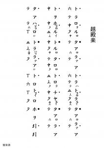 越殿楽(龍笛)